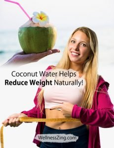 Coconut Water Helps Natural Weight Loss