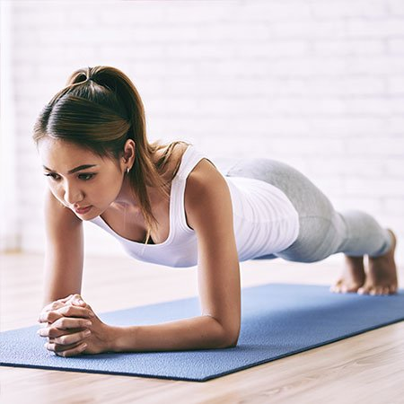 Floor Exercise for Flat Abs
