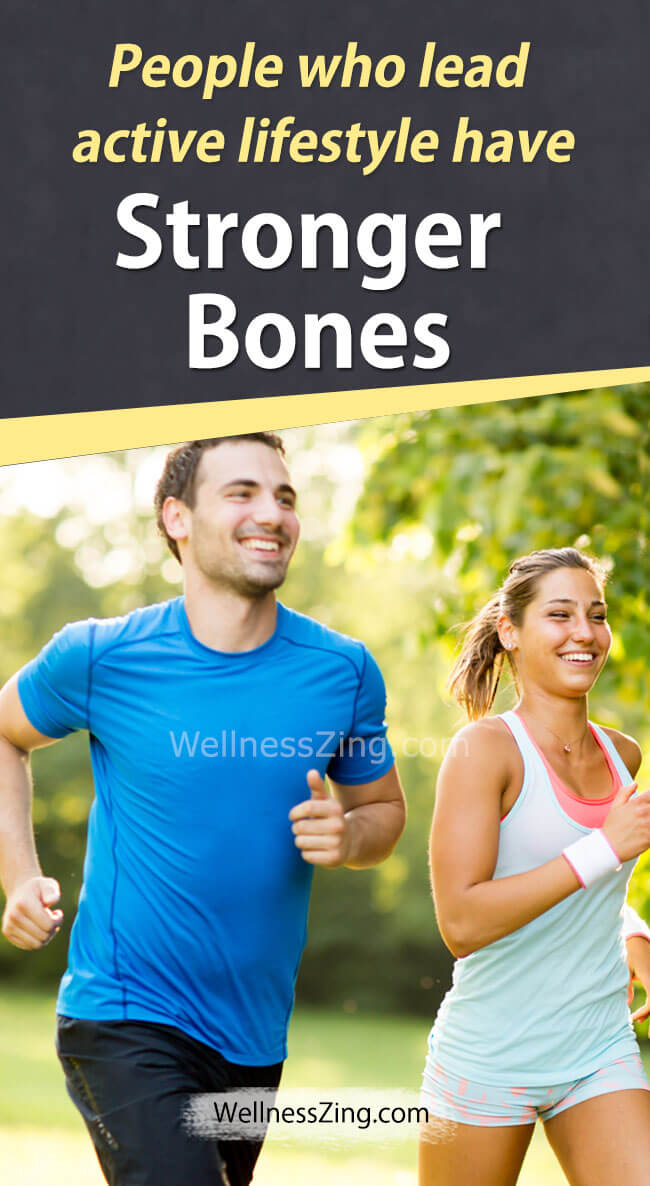 Active Lifestyle Gives Stronger Bones