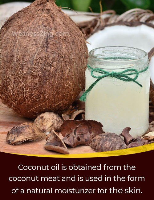 Coconut Oil is an Effective Remedy for Skin