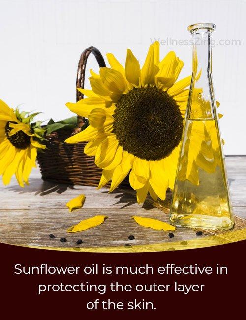 Using Sunflower Oil for Skincare in Eczema