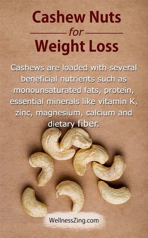 Cashew Nuts for Weight Loss