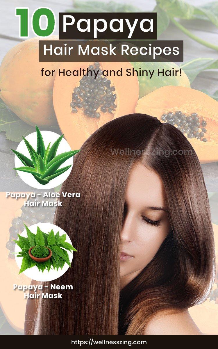 Papaya Hair Mask Recipes for Healthy Hair