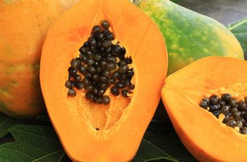 Papaya Homemade Hair Mask Recipes