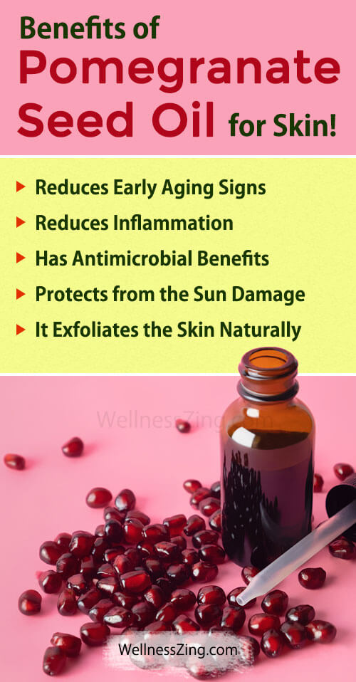 Benefits of Pomegranate Seed Oil for Skin