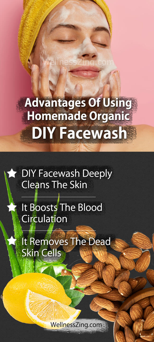 Advantages of Using Homemade Face Wash