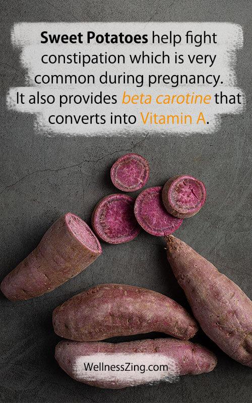 Sweet Potato Benefits During Pregnancy