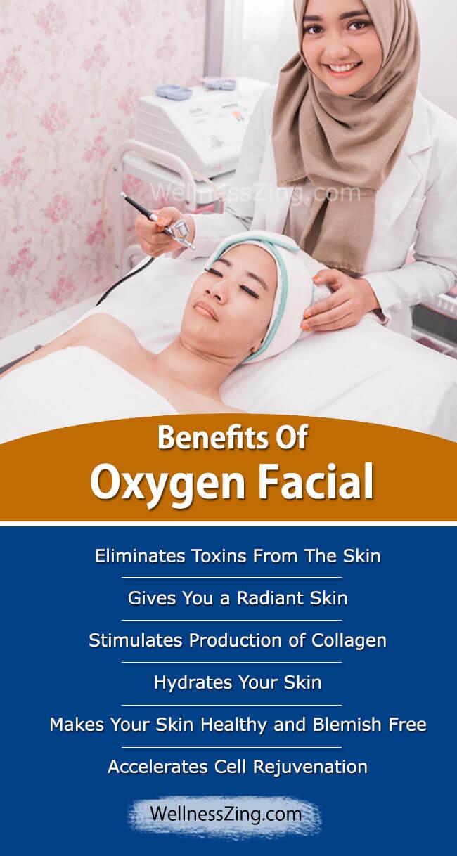 Benefits of Oxygen Facial