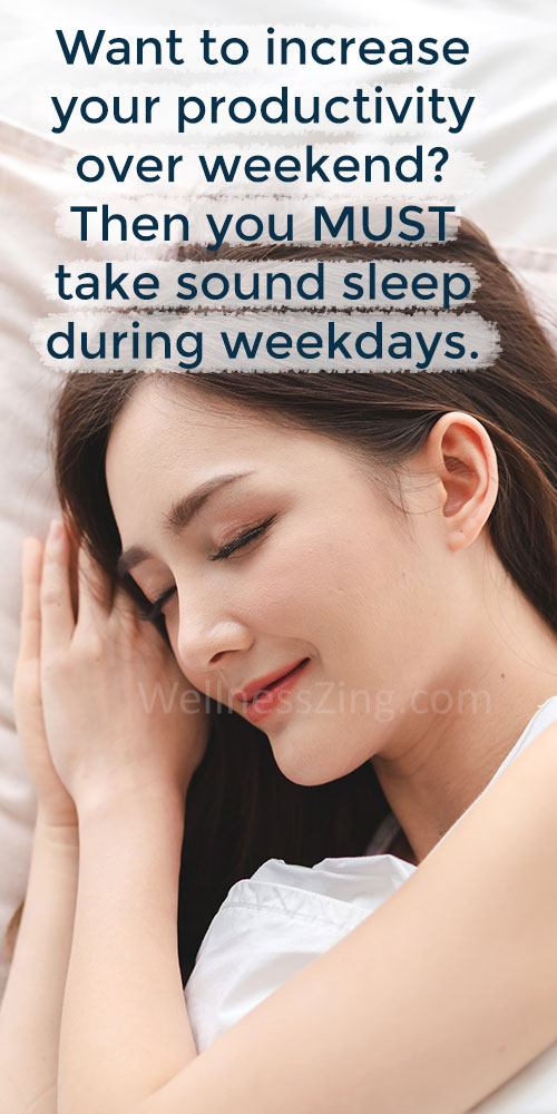 Sound Sleep Increases Productivity