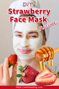 How to Make DIY Strawberry Face Mask with Honey