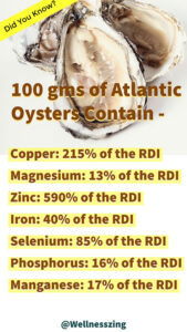 Nutritional Values of Oysters
