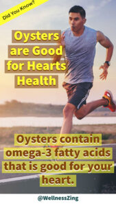 Oysters are Good for Heart