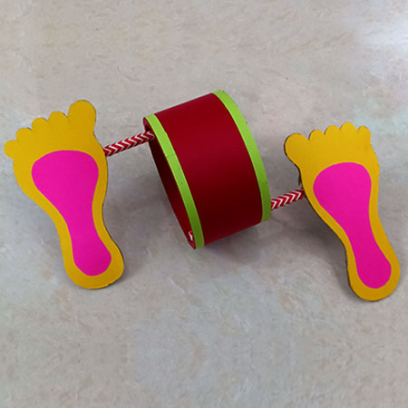 Walking Foot Craft for Kids