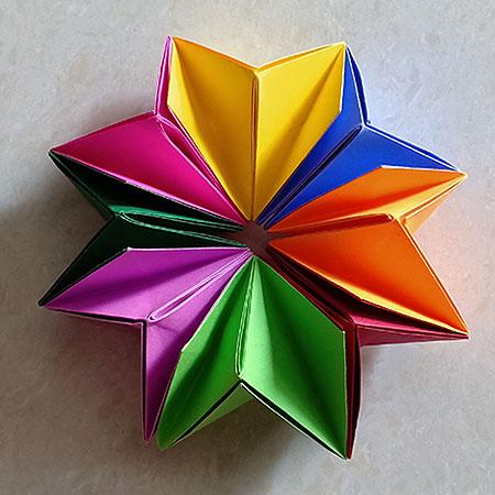Paper Flower Making for Kids