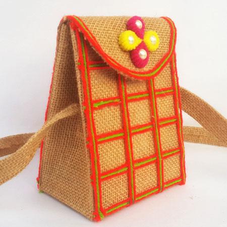 DIY Jute Purse Making Craft