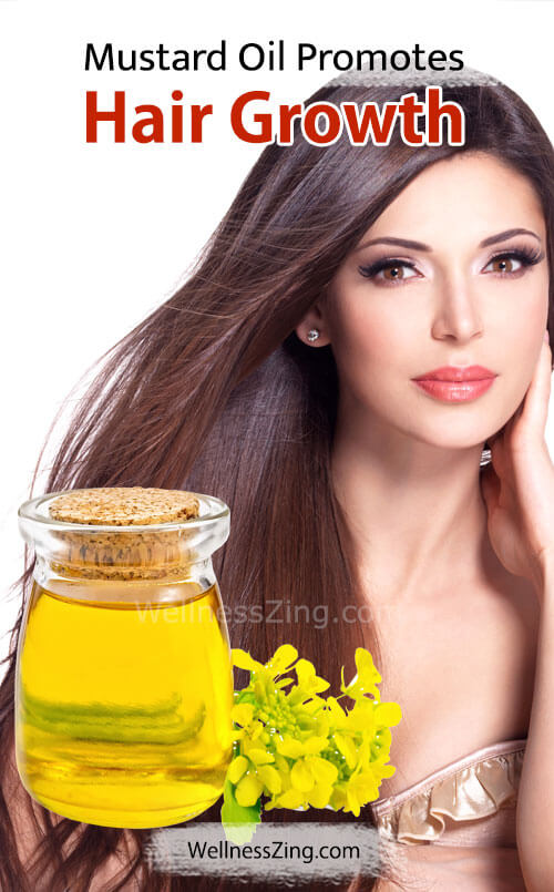 Mustard Oil Promotes Hair Growth