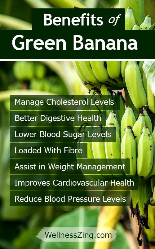 Benefits of Green Banana