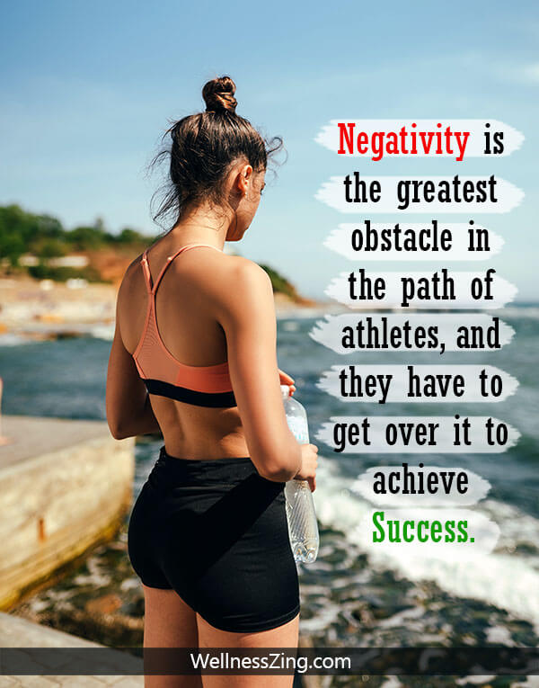 Athlete Get Rid of Negative Thoughts for Success